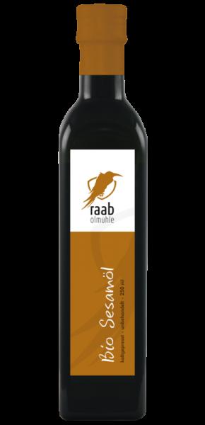 Ölmühle Raab Bio Sesamöl, Handverlesen, Kaltgepresst, Unbehandelt, Kontrolliert biologischer Anbau