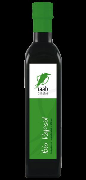 Ölmühle Raab Bio Rapsöl, Handverlesen, Kaltgepresst und unbehandelt, Kontrolliert biologischer Anbau