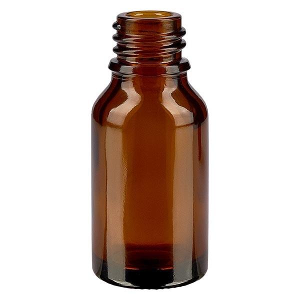 Braunglasflasche 30 ml, Aromaflasche, Tropfflasche, Sprayflasche, Gewinde DIN 18, Apothekenqualität