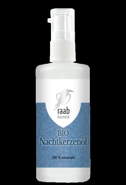 Ölmühle Raab Bio Nachtkerzenöl, Hautpflegeöl, 100 ml, Kaltgepresst und unbehandelt