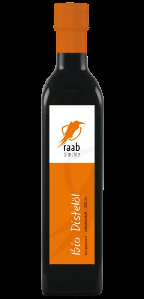 Ölmühle Raab Bio Distelöl, Handverlesen, Kaltgepresst und unbehandelt, Kontrolliert biologisch