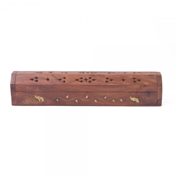 Räucherstäbchenbox, Räucherstäbchenhalter aus Holz