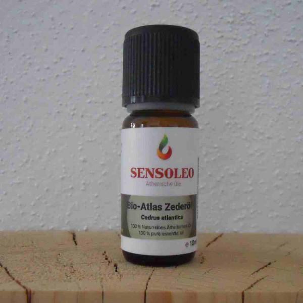 Sensoleo Zedernöl Bio, Atlas-Zeder, 10 ml, 100% naturreines ätherisches Öl