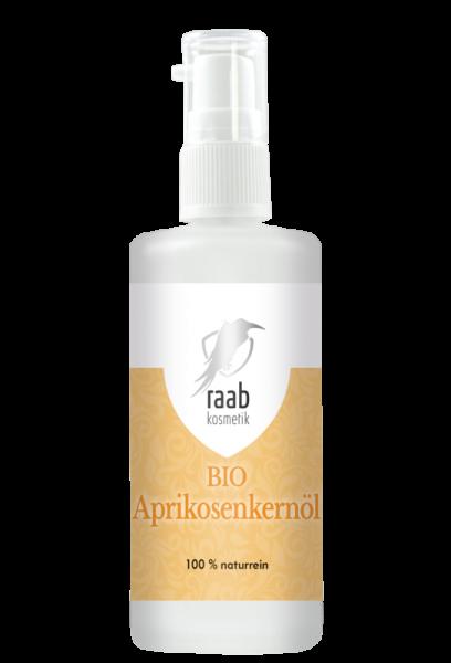 Ölmühle Raab Bio Aprikosenkernöl, Hautpflegeöl, 100 ml, Kaltgepresst und unbehandelt