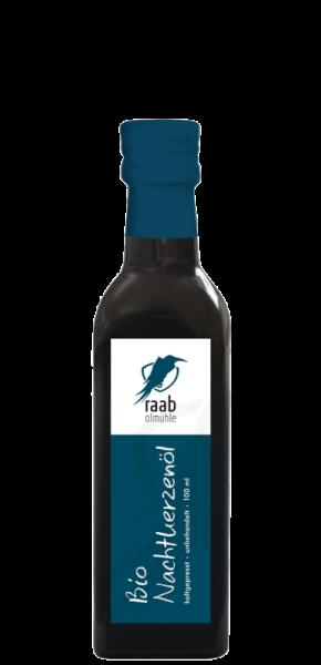 Ölmühle Raab Bio Nachtkerzenöl, Handverlesen, Kaltgepresst und unbehandelt, 100 ml