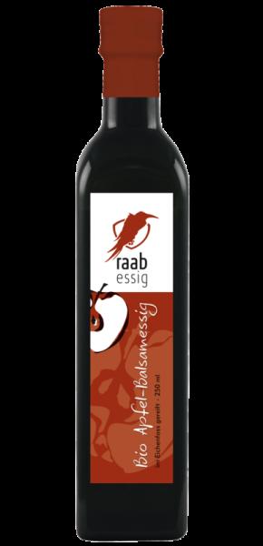 Ölmühle Raab Bio Apfelbalsamessig, 250 ml, im Eichenfass gereift, Kontrolliert biologischer Anbau