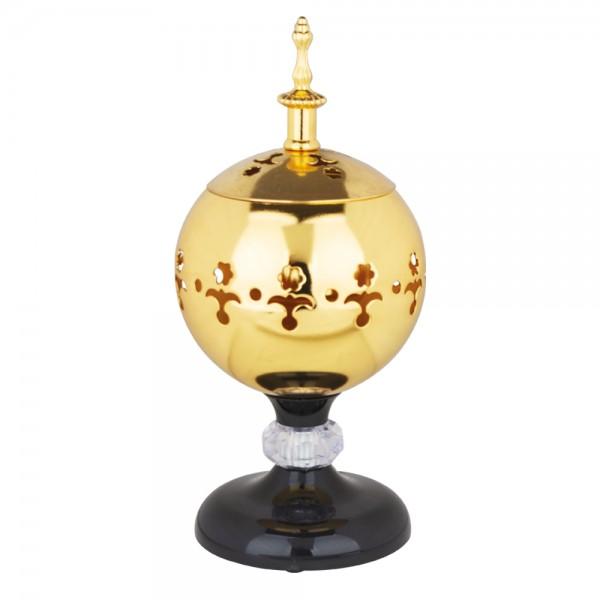 Weihrauchbrenner elektrisch ABADAN L gold mit Temperaturregler und Abschaltautomatik