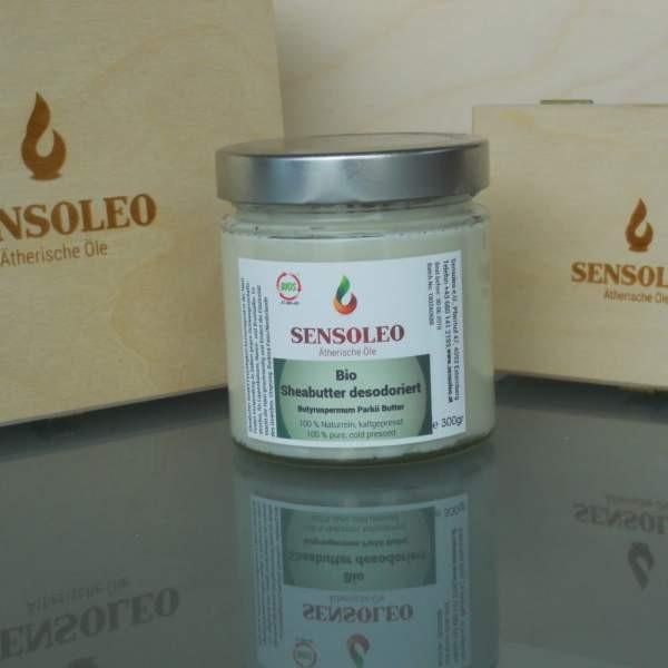 Sensoleo Sheabutter desodoriert Bio