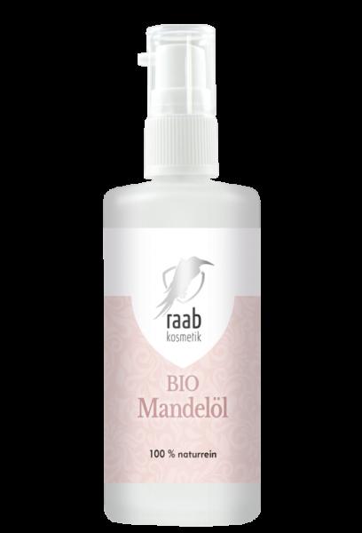 Ölmühle Raab Bio Mandelöl, Hautpflegeöl, 100 ml, Kaltgepresst und unbehandelt
