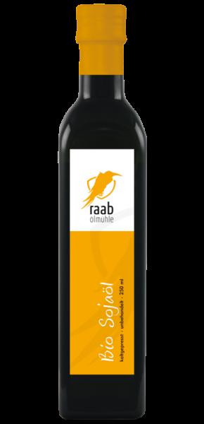 Ölmühle Raab Bio Sojaöl, Handverlesen, Kaltgepresst und unbehandelt, Kontrolliert biologischer Anbau