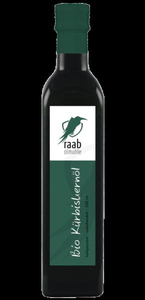 Ölmühle Raab Bio Kürbiskernöl, Handverlesen, Kaltgepresst und unbehandelt, biologischer Anbau